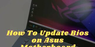 How To Update Bios on Asus Motherboard