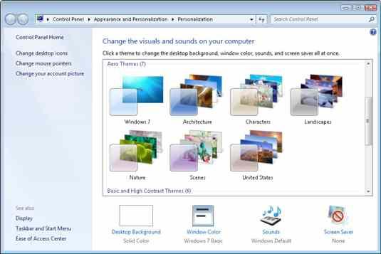 How to Change Windows 7 Laptop Wallpaper
