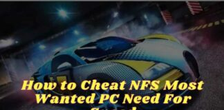How to Cheat NFS Most Wanted PC Need For Speed