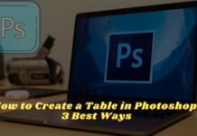 How to Create a Table in Photoshop 3 Best Ways