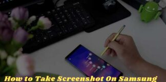 How to Take Screenshot On Samsung Galaxy Note 9