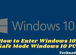How to Enter Windows 10 Safe Mode Windows 10 PC