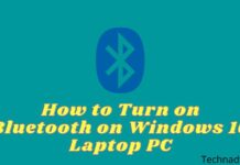 How to Turn on Bluetooth on Windows 10 Laptop PC