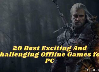 20 Best Exciting And Challenging Offline Games for PC