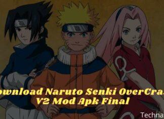 Download Naruto Senki OverCrazy V2 Mod Apk Final