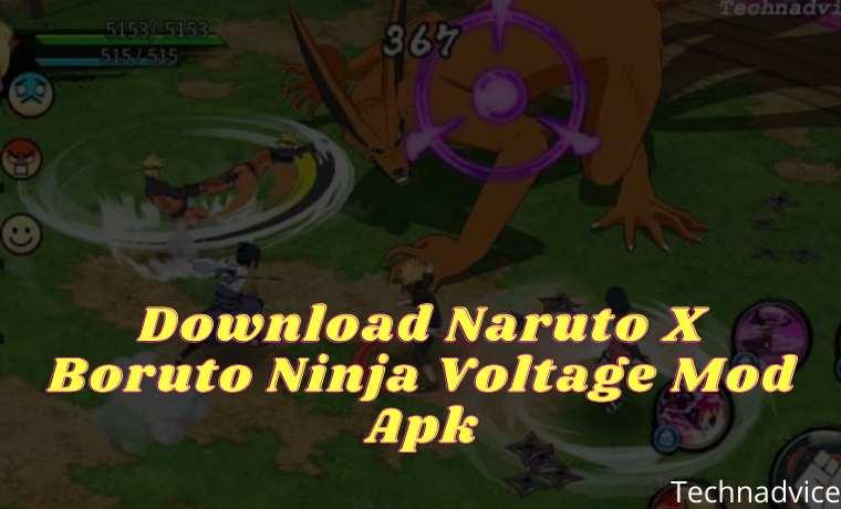 Download Naruto X Boruto Ninja Voltage Mod Apk