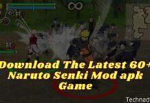 Download The Latest 60+ Naruto Senki Mod apk Game