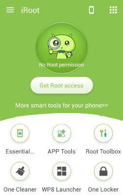 How to root android using iroot