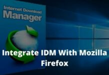 How To Integrate IDM With Mozilla Firefox