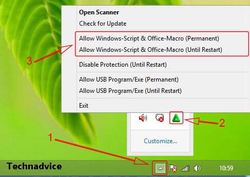 Granting Windows Script Host Permissions