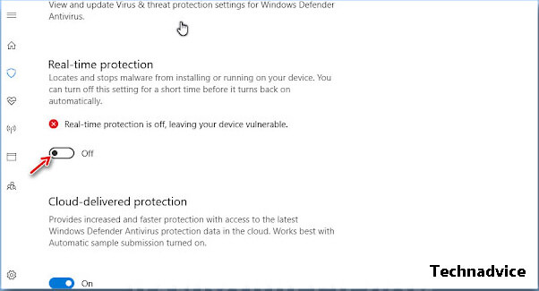 Turn off Windows Defender and Other Antivirus