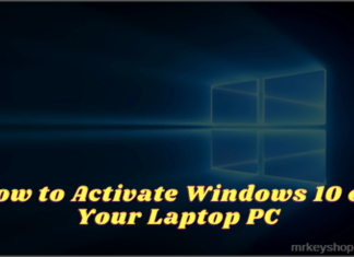 How to Activate Windows 10 on Your Laptop PC