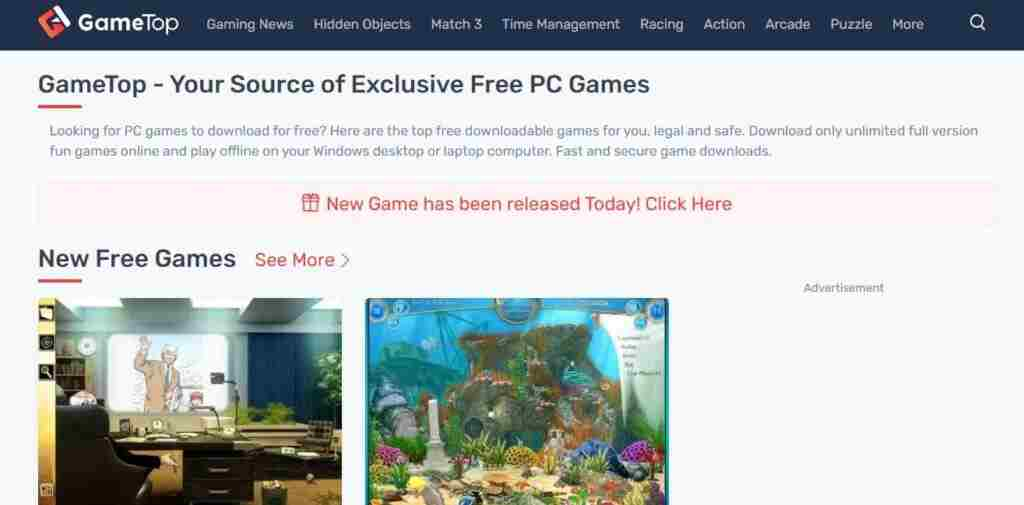 Top Games – Your Source of Exclusive Free PC Games