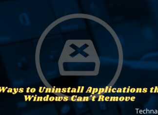 6 Ways to Uninstall Applications that Windows Can't Remove