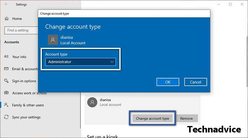 Create a New Administrator Account
