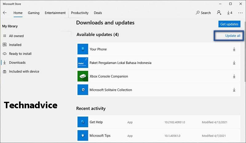 Make sure the application has been updated to the latest version