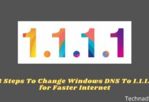 8 Steps To Change Windows DNS To 1.1.1.1 for Faster Internet