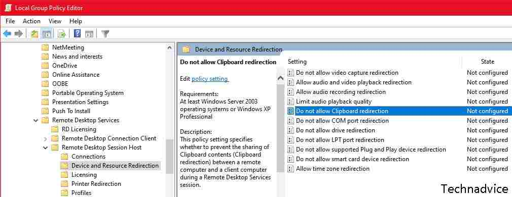 How to Fix Windows 10 Clipboard Using Group Policy